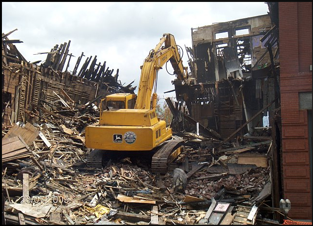 Hammond grinding recycling building demolition services for Demolition wood for sale